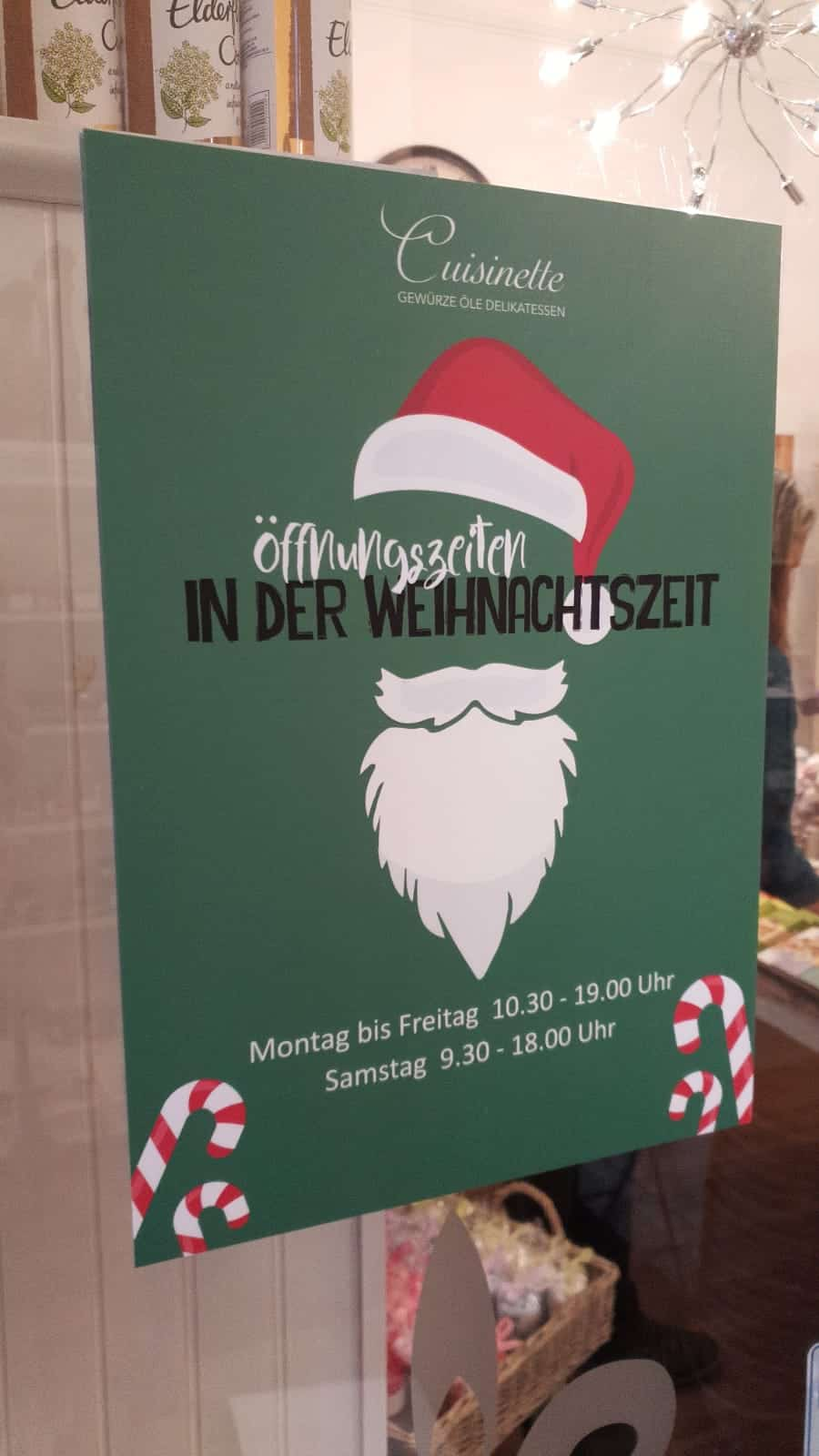 Werbetechnik Hamburg Feinkost Cuisinette